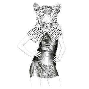 leopardy 50x70